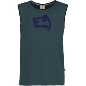 E9 Boom Koszulka bez rękawów Mężczyźni niebieski